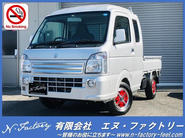 スーパーキャリイ X AC 5MT キーレス 軽トラック 2名乗り(スズキ)【中古】