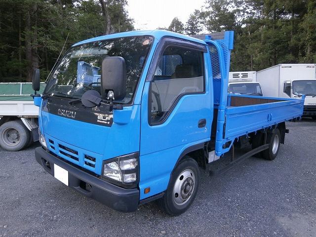 エルフトラック 1.95tワイドロング 平ボデー 高床(いすゞ)【中古】