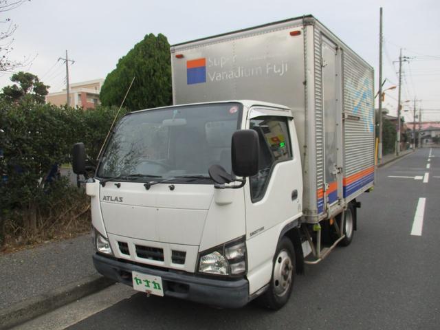 アトラストラック 4.8デイーゼル 2トン アルミバン オートマ(日産)【中古】
