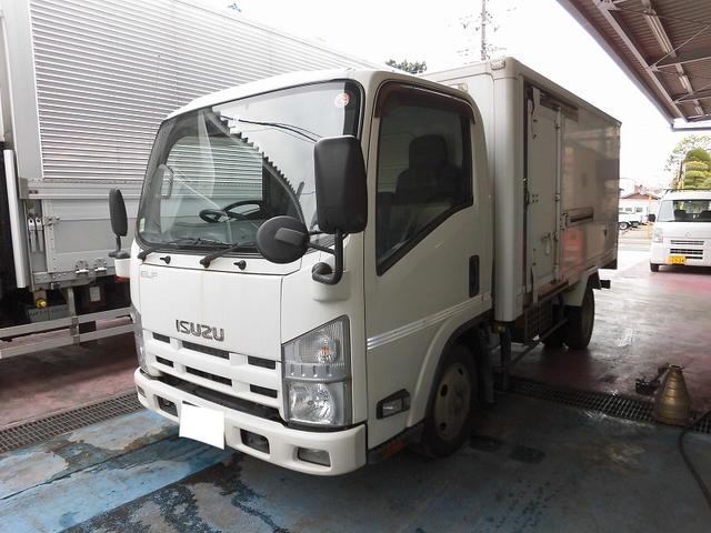 エルフトラック 2t 標準 セミロング 冷凍車(いすゞ)【中古】