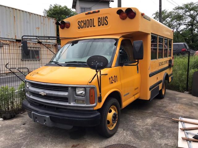 シボレー エクスプレス G3500 USAスクールバス 2WD ディーゼル車(シボレー)【中古】