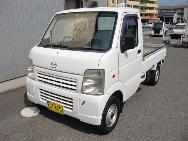 スクラムトラック KCスペシャル 5速MT エアコン パワステ(マツダ)【中古】