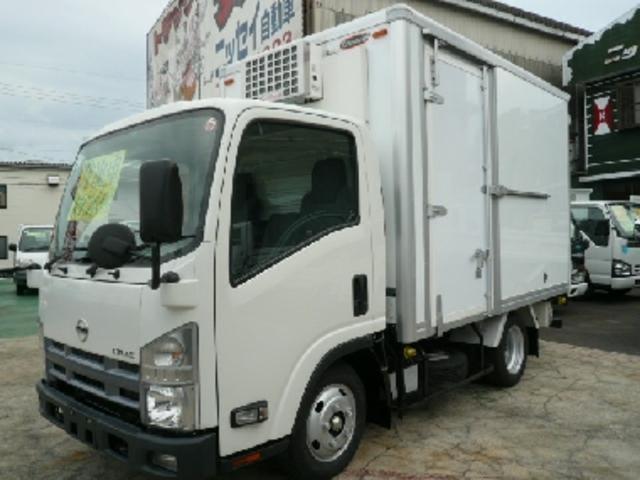 アトラストラック 2t 冷蔵冷凍車 低温-30℃スタンバイ付!(日産)【評価書付】【中古】