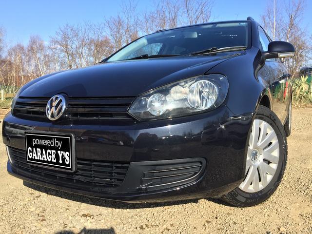 VW ゴルフヴァリアント 1.4TSI FFトレンドライン Tチェーン ナビ 保証付(フォルクスワーゲン)【中古】