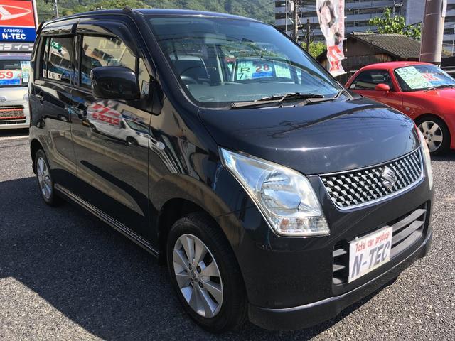 ワゴンR FXリミテッドスマートキー電格ミラー社外オーディオ(スズキ)【中古】