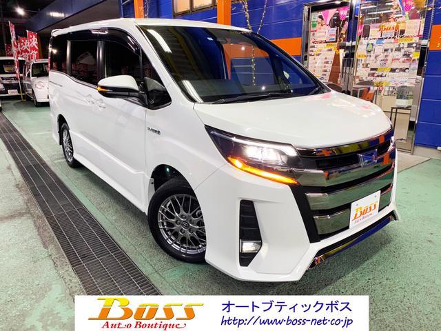 ノア ハイブリッドSi 7人乗り 後期モデル 禁煙車(トヨタ)【評価書付】【中古】