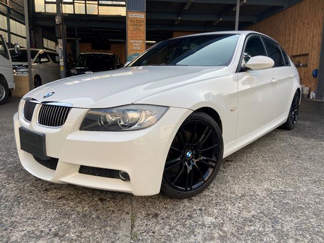 BMW 323i Mスポーツ 左ハンドル 18AW黒 ETC 禁煙車(BMW)【評価書付】【中古】