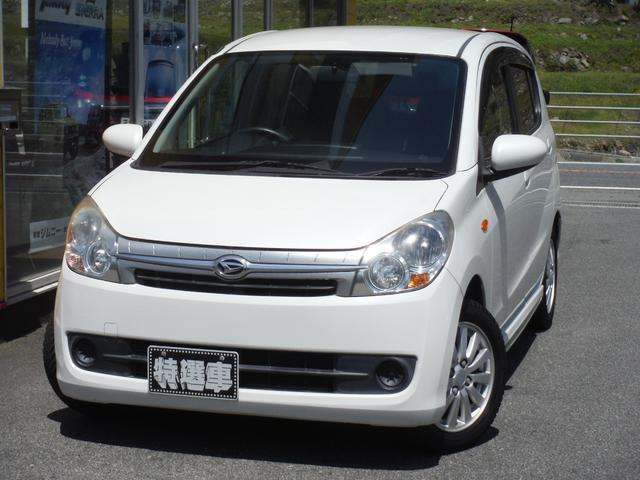 ミラカスタム X スマートキー CDオーディオ 車体色パールホワイト(ダイハツ)【中古】