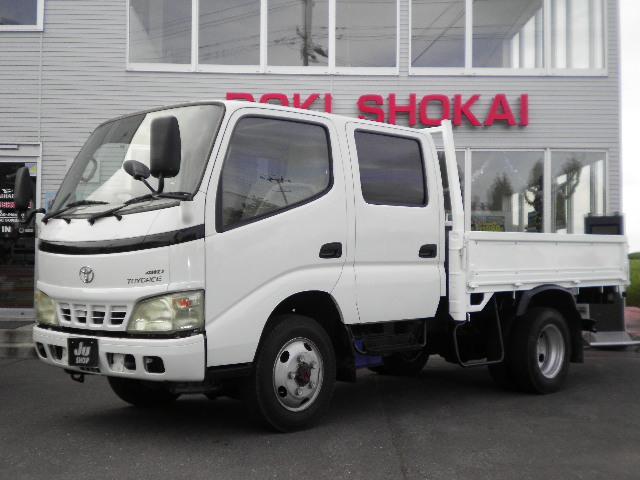 トヨエース Wキャブセミロング4WD最大積載量2t(トヨタ)【中古】