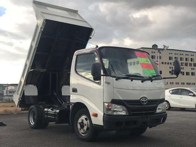 ダイナトラック フルジャストローダンプ 2t積 5速MT ETC エアコン(トヨタ)【中古】