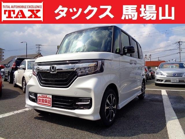 N-BOXカスタム G・Lホンダセンシング 届出済未使用車 全国保証(ホンダ)【中古】