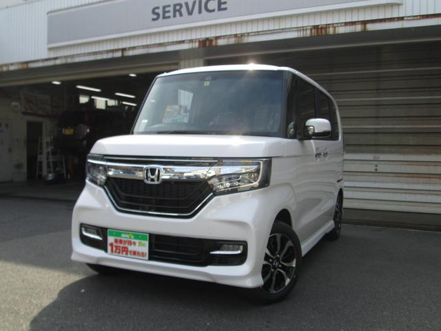 N-BOXカスタム G・Lホンダセンシング 届出済未使用車 バックカメラ ETC(ホンダ)【評価書付】【中古】