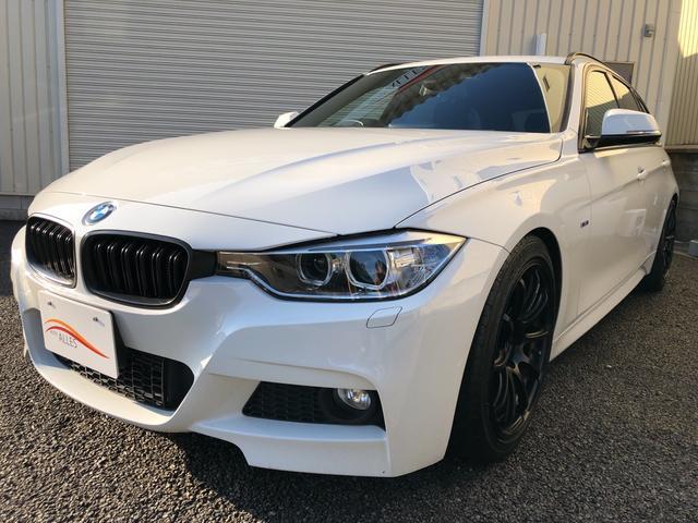 BMW 320dツーリング Mスポーツ純正HDDナビTV ローダウン(BMW)【評価書付】【中古】