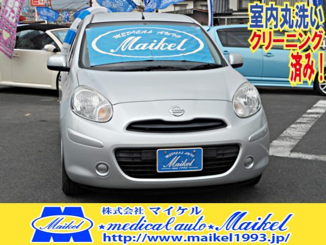 マーチ 12S ナビ新品 キーレス オートマ CDステレオ(日産)【中古】