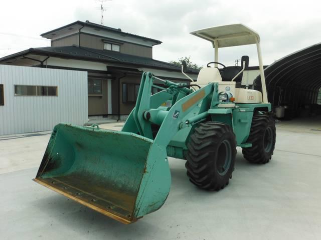 日本 日立 4WDホイルローダー 中折れ 652h(日本その他)【中古】