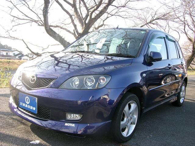 デミオ スポルト オートマチック車 14インチアルミ CD エアロ(マツダ)【中古】