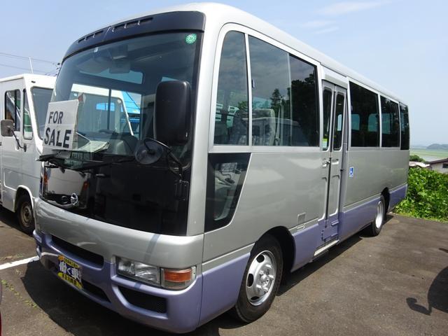 シビリアンバス 福祉車両 リフト付き 車椅子1基固定 オートマ 22人乗り(日産)【中古】