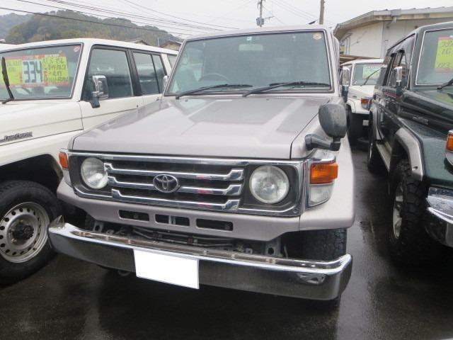 ランドクルーザー70 LX ディーゼル 4WD ロング ワンオーナー ETC(トヨタ)【評価書付】【中古】