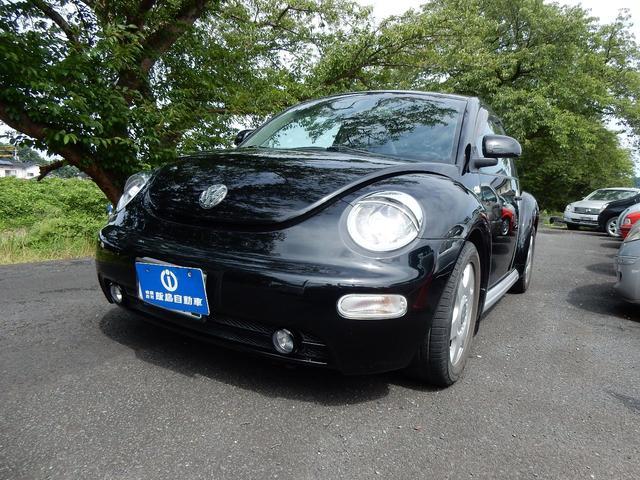 VW ニュービートル プラス 左ハンドル レザーシート アクセサリ-付 ブラック(フォルクスワーゲン)【中古】