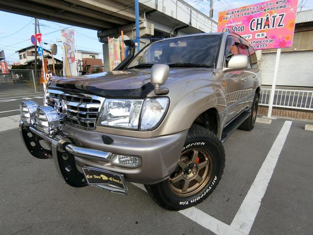 ランドクルーザー100 VXLTD 1ナンバー登録 4WD 外AWリフトUPマフラー(トヨタ)【中古】