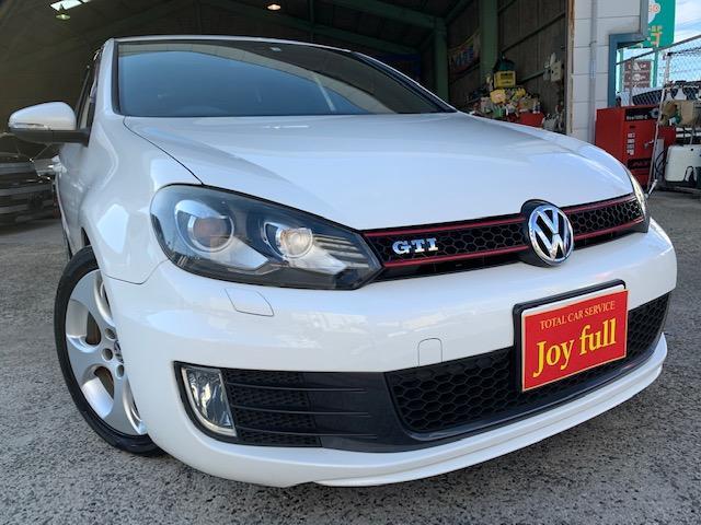 VW ゴルフ GTI ナビ 地デジTV バックカメラ ETC 禁煙車(フォルクスワーゲン)【評価書付】【中古】