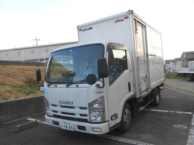 エルフトラック ロングフルフラットロー 1.9トン積み バックカメラ AT(いすゞ)【中古】