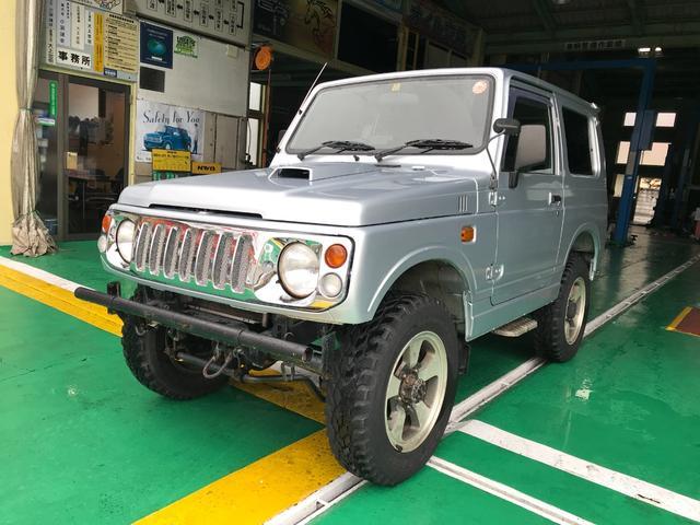 ジムニー ランドベンチャ ETC 4WD 5MT 2インチリフトUP(スズキ)【評価書付】【中古】