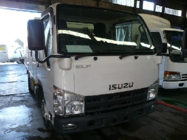 エルフトラック 1.5t冷蔵冷凍車 -5℃ 両側サイドドア(いすゞ)【評価書付】【中古】