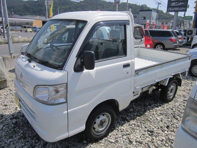 ハイゼットトラック エアコン・パワステ スペシャル 5速マニュアル車 4WD(ダイハツ)【評価書付】【中古】
