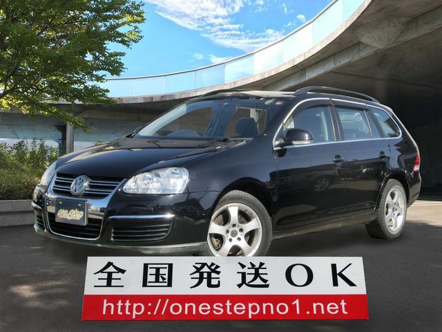 VW ゴルフヴァリアント TSI コンフォートライン 社外ナビTV(フォルクスワーゲン)【評価書付】【中古】