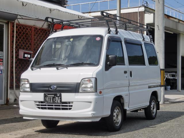 サンバーバン VB 4WD 5速マニュアル車(スバル)【中古】