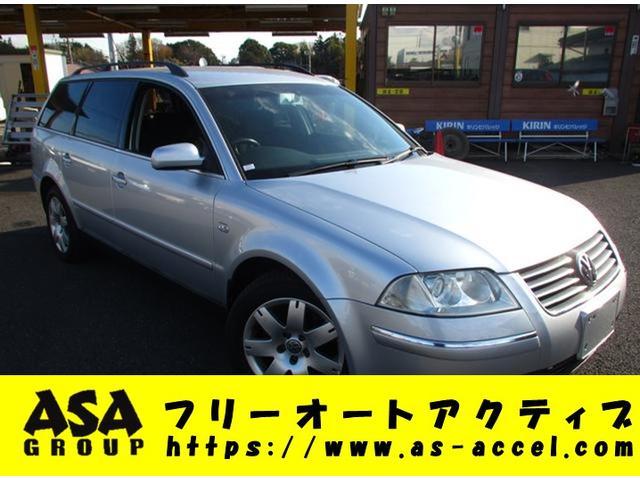 VW パサートワゴン ベース MD CD ルーフレール アルミ キーレス(フォルクスワーゲン)【中古】