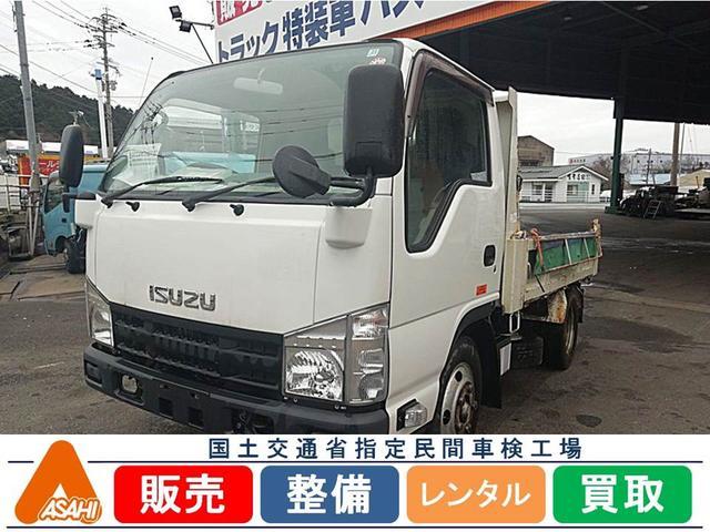 エルフトラック フラットロー 3tダンプ 極東開発(いすゞ)【中古】