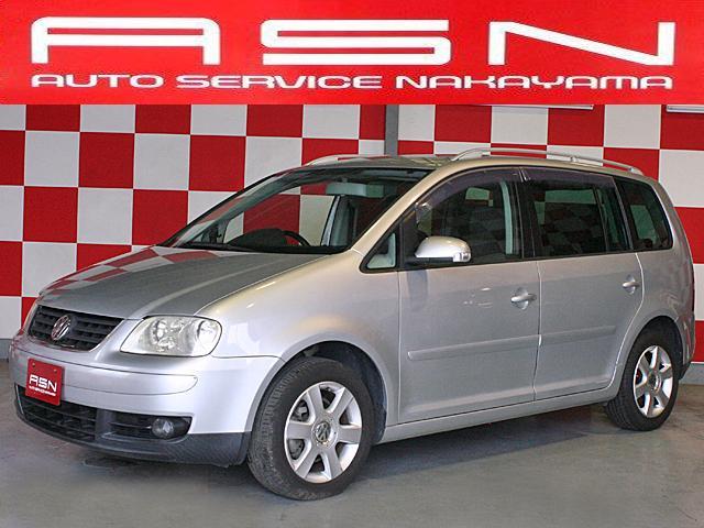 VW ゴルフトゥーラン GLi ナビ ETC 純正16インチアルミ(フォルクスワーゲン)【評価書付】【中古】