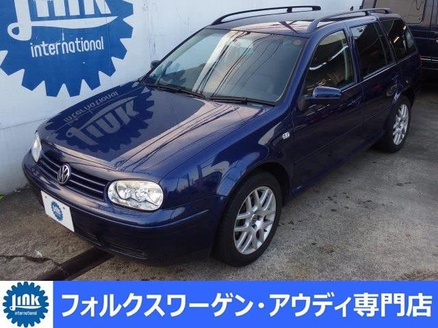 VW ゴルフワゴン GLi プレミアムパッケージ 黒革 禁煙車 新車記録 鑑定書(フォルクスワーゲン)【評価書付】【中古】