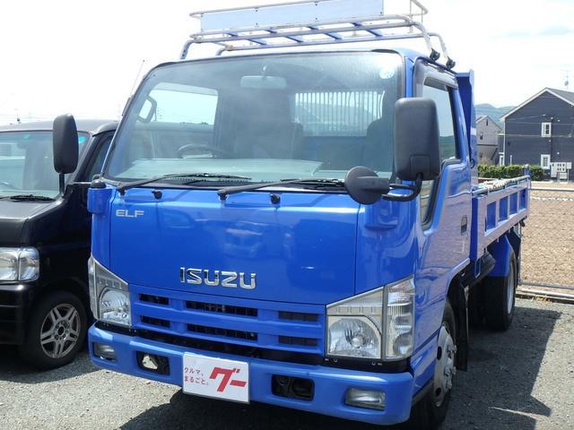 エルフトラック 2.0tダンプ キーレス 運転席エアバック(いすゞ)【中古】