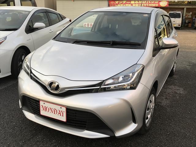 ヴィッツ 1.0F LEDエディション(トヨタ)【中古】