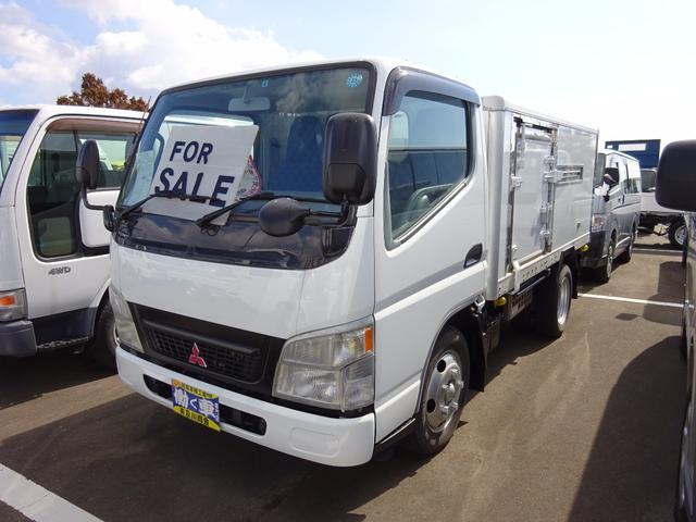 キャンター 2t 冷蔵冷凍車 -30度 三菱TD17D 5速マニュアル(三菱ふそう)【評価書付】【中古】