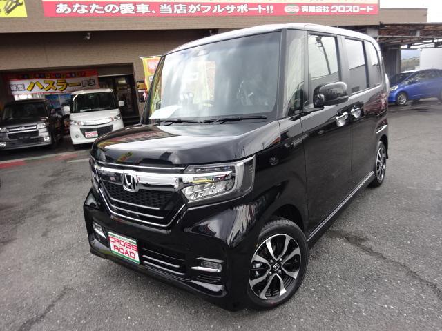 N-BOXカスタム G・Lホンダセンシング ベンチシート 届け出済み未使用車(ホンダ)【中古】