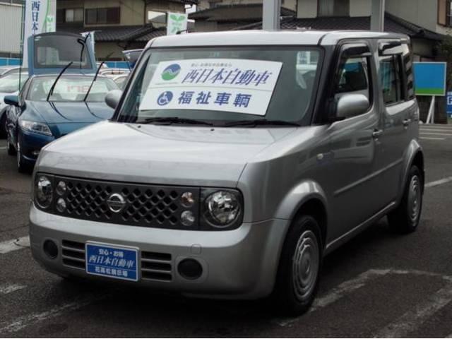 キューブ チェアキャブ スローパー車 ワンオーナー 車椅子固定装置(日産)【中古】