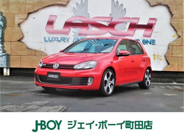 VW ゴルフ GTI 社外HDDナビ 地デジTV パドルシフト ターボ(フォルクスワーゲン)【評価書付】【中古】