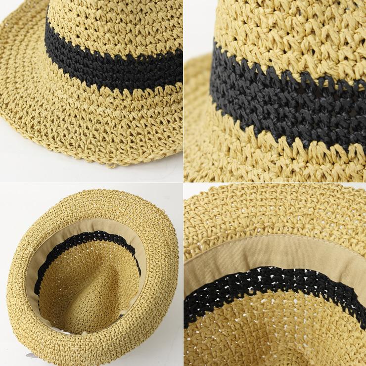 fcfc53a281360a ... NEWYORKHAT New York hat Crochet Fedora paper hat #7142 soft felt hat hat  ultraviolet rays ...
