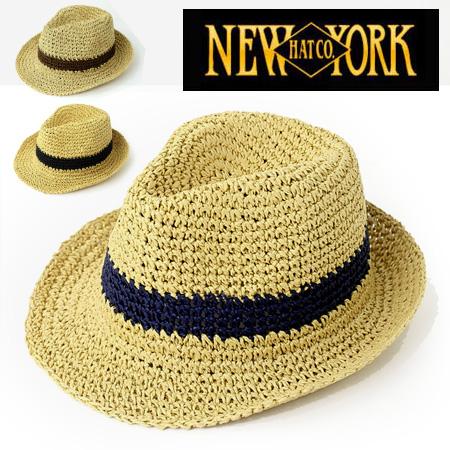6314d3b24a8a31 NEWYORKHAT New York hat Crochet Fedora paper hat #7142 soft felt hat hat  ultraviolet rays ...