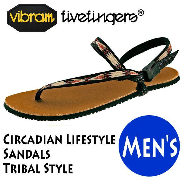 サンダル メンズ Vibram FiveFingers ビブラムファイブフィンガーズ Circadian Lifestyle Sandals Tribal Style 19ES0003