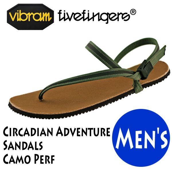 サンダル メンズ Vibram FiveFingers ビブラムファイブフィンガーズ Circadian Adventure Sandals Camo Perf 19ES0005
