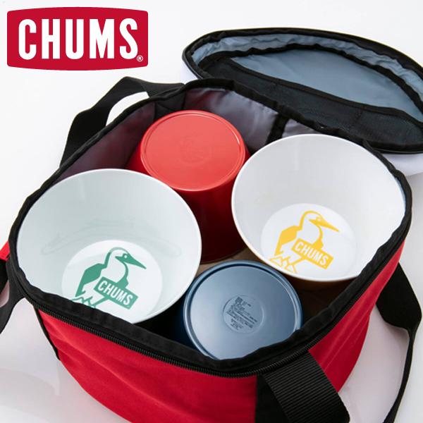 CHUMS アウトドア/キッチン用品 メラミンディッシュセット Melamine Dish Set CH62-1237