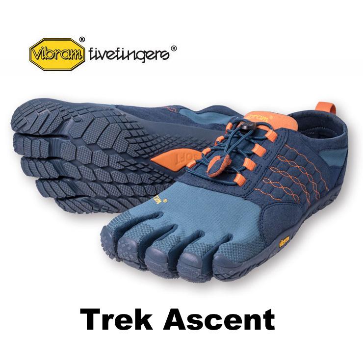 vibram fivefingers ビブラムファイブフィンガーズ Trek Ascent 5本指シューズ 17m4701 Deep Pond 【ネコポス不可】