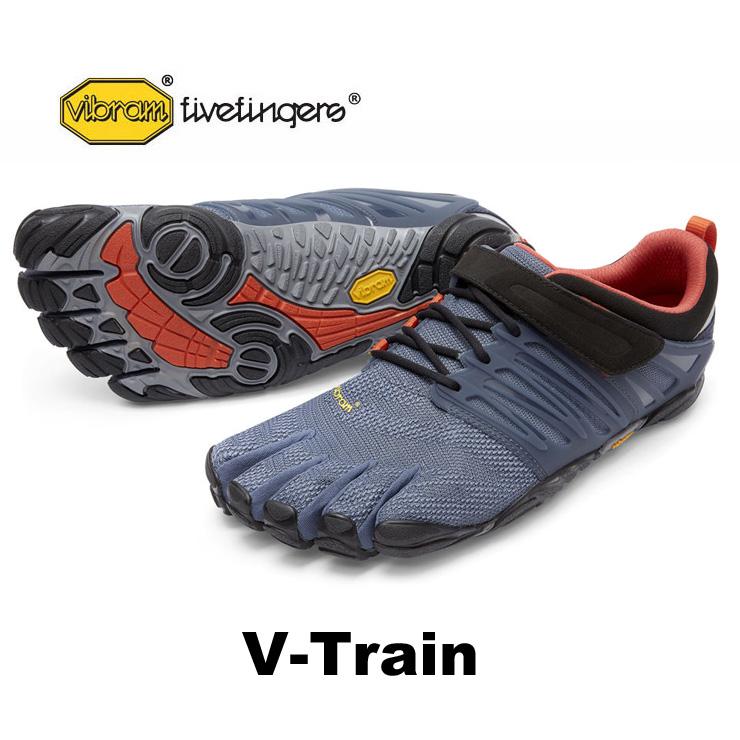 VibramFiveFingers ビブラムファイブフィンガーズ 5本指シューズ V-Train Grey 【ネコポス不可】