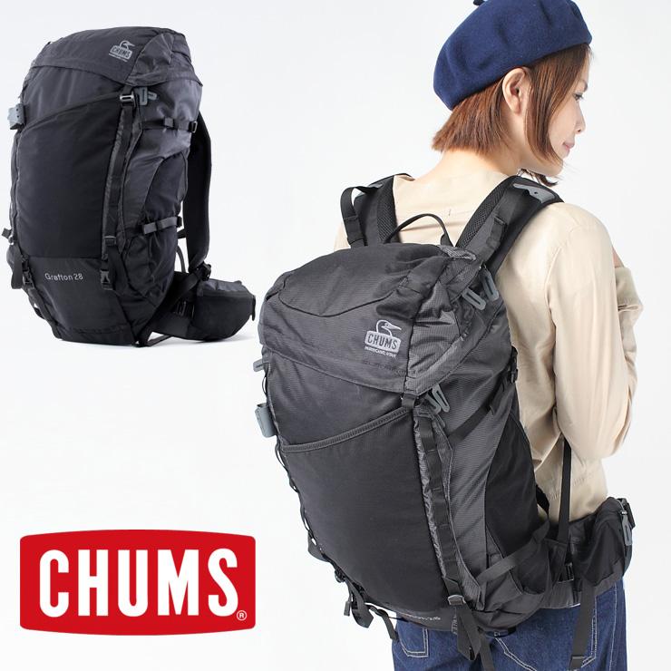 チャムス CHUMS Grafton 28 グラフトン28 CH60-2212【ネコポス不可】