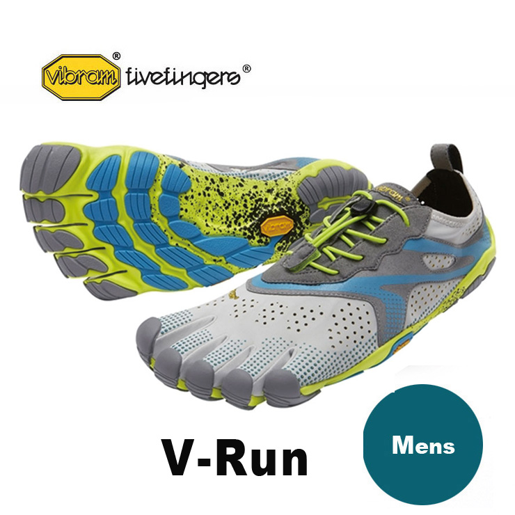 VibramFiveFingers ビブラムファイブフィンガーズ 5本指シューズ V-Run Oyster 【ネコポス不可】
